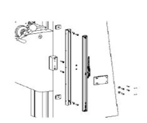 Z Axis (Knee) Scale Bracket: Alliant, Bridgeport Series I, Comet, Sharp, MSC
