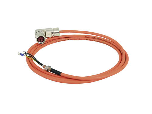 3m Pre-assembled Power Cable for 1FL6 Motors, Frame Size A