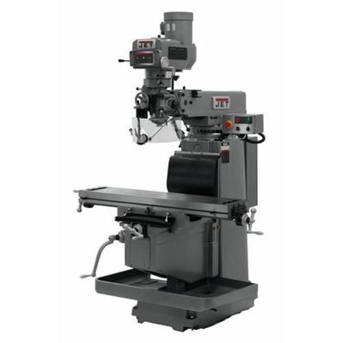 JET JTM-1254RVS Mill With ACU-RITE 303 DRO X & Y Powerfeeds & Air Power Drawbar #698167