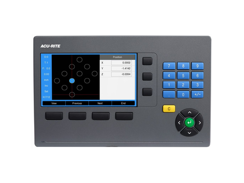 Acu-Rite DRO203 2-Axis Mill DRO Kit