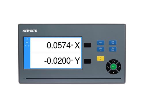 "Acu-Rite DRO102 Mill DRO Kit - 2 Axis, 12"" x 30"" Travel Mill Digital Readout"