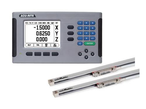 Acu-Rite 200S 2-Axis Mill DRO Kit