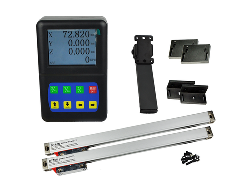 Ditron D50 Lathe DRO Kit w/ Glass Scales