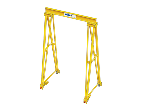 High Capacity, High Height, Long Span Gantry Cranes - Spanco PF Series