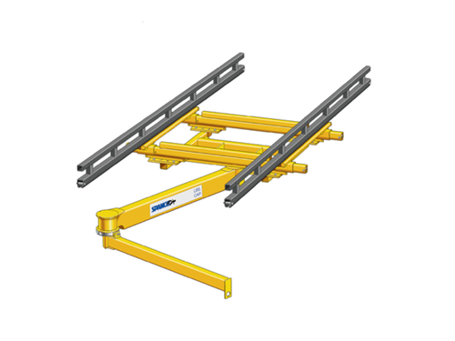 Ceiling/Bridge Mounted Articulating Jib Cranes - Spanco 400 Series