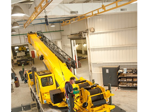 Rigid Lifelines - Ceiling-Mounted Monorail Anchor Track™ System