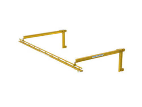 Rigid Lifelines - Column-Mounted Fold-Away Anchor Track™ System