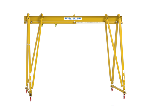 Adjustable Height Rolling A-Frame Anchor Track™ System