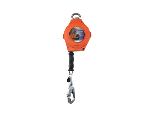 Rigid Lifelines - Cable Hybrid Self-Retracting Lanyards