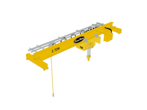 Top Running Single Girder Overhead Bridge Crane, CraneWerks