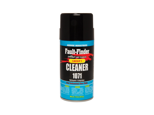 Crown 1071 Fault Finder Cleaner, 12oz Aerosol Can