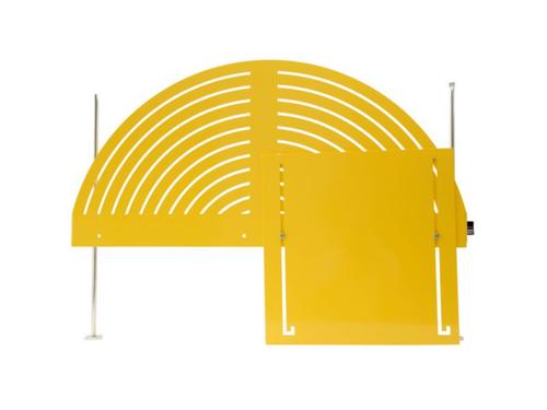"""Stronghold Safety 210262 Upper Disc Sander Shield for 20"""" Disc"""