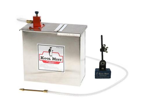 Kool Mist 100N Spray Mist Coolant Unit, Single Mist with 205 Magnetic Nozzle Positioner
