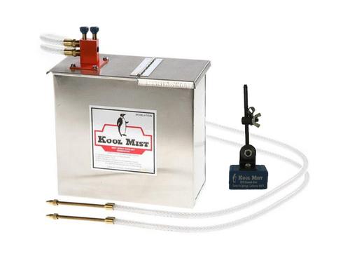 Kool Mist 102N Spray Mist Coolant Unit, Double Mist with 205 Magnetic Nozzle Positioner