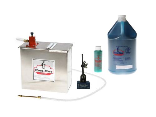 Kool Mist Model 500 General Purpose Kool Starter Kit, 100N Coolant Unit, Magnetic Positioner, Formula 78 Coolant (1 Gallon)