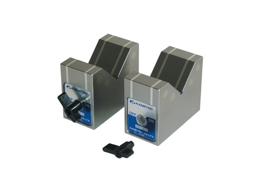 Kanetec KMV-80D Magnetic V-Blocks, 200N Holding Power