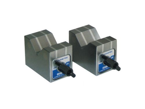 Kanetec KMV-50D Magnetic V-Blocks, 150N Holding Power