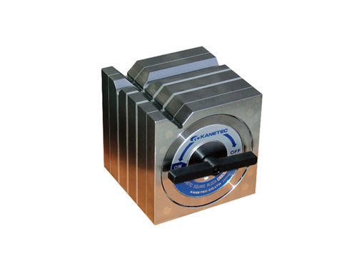 Kanetec KYA-13B Magnetic Square Type Block, 300N/250N (V1/V2) Holding Power