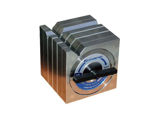 Kanetec KYA-18B Magnetic Square Type Block, 400N/300N (V1/V2) Holding Powe