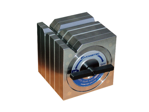 Kanetec KYA-20B Magnetic Square Type Block, 650N/650N (V1/V2) Holding Power