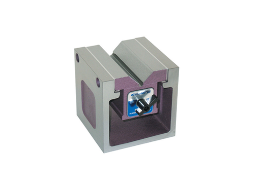 Kanetec KYB-8A Magnetic Square Type Block, 180N Holding Power