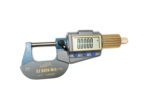 "iGaging 35-054-U01 Ez Data Mic Electronic Micrometer 0-1""/0-25mm Range, Bluetooth Capable"