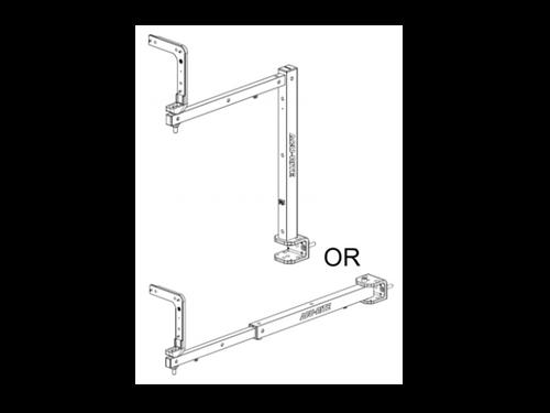 Acu-Rite - Long Arm Tilt Swivel Display Mounting Arm