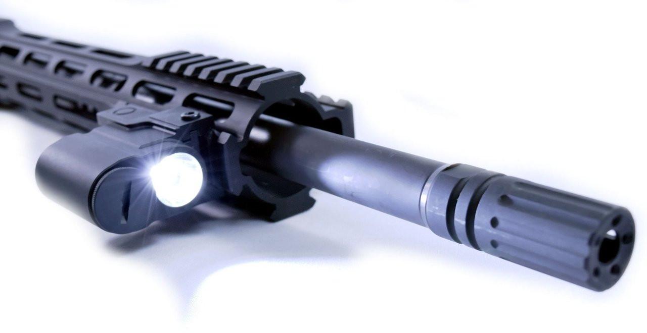 Compact Tactical Flashlight | 300 Lumen | Picatinny Rail