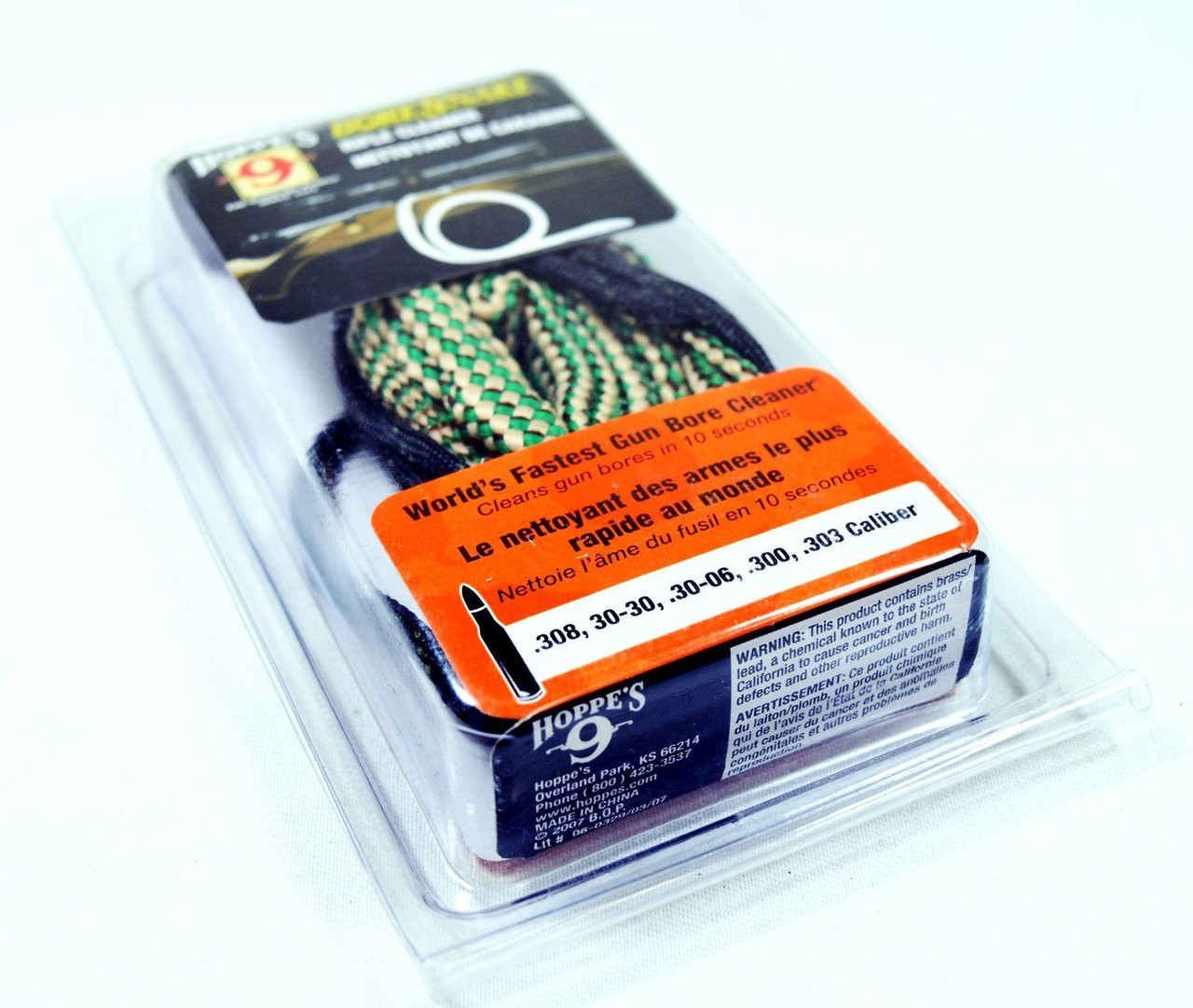 Hoppes Bore Snake Rifle Cleaner   .300 , .308 , 7.62 (AC-CL1015)