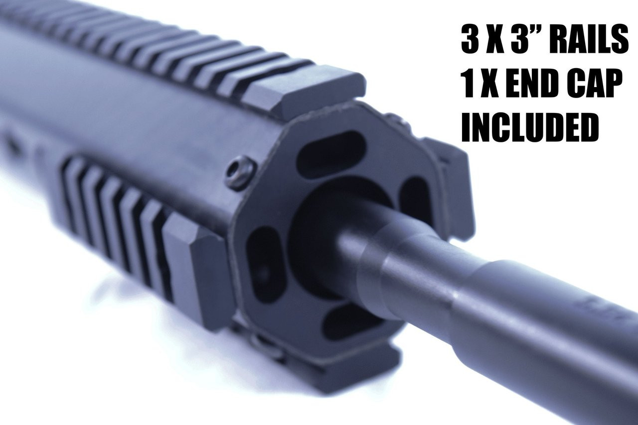 "16"" 3-Gun Competition Carbon HEX Upper 
