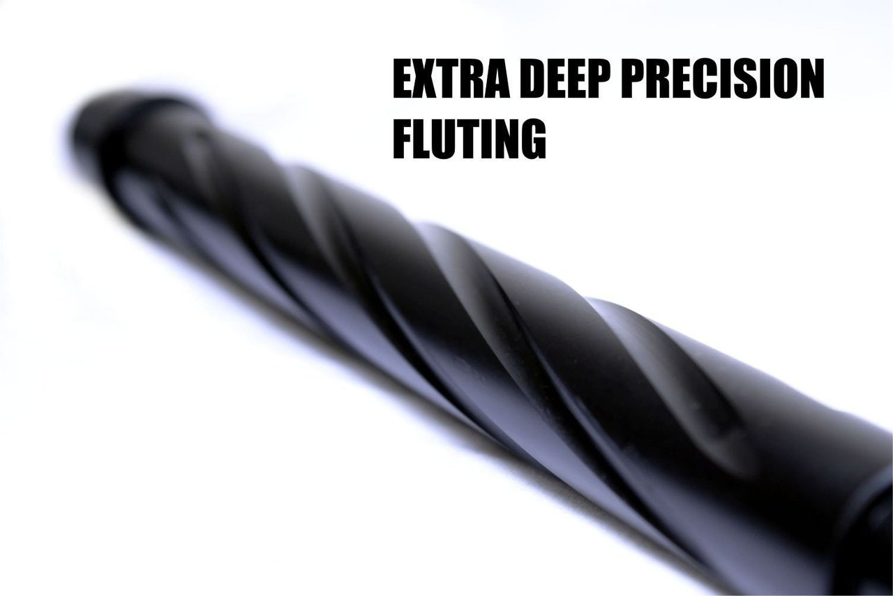 "18"" H-Bar Mid Length Barrel Wylde 1:8 Nitride Spiral Fluted 