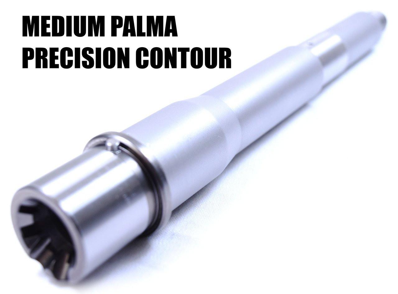 "7"" | Obsidian Stainless | Medium Palma | WYLDE 1:7 | Ultra Match Precision CQB Barrel"