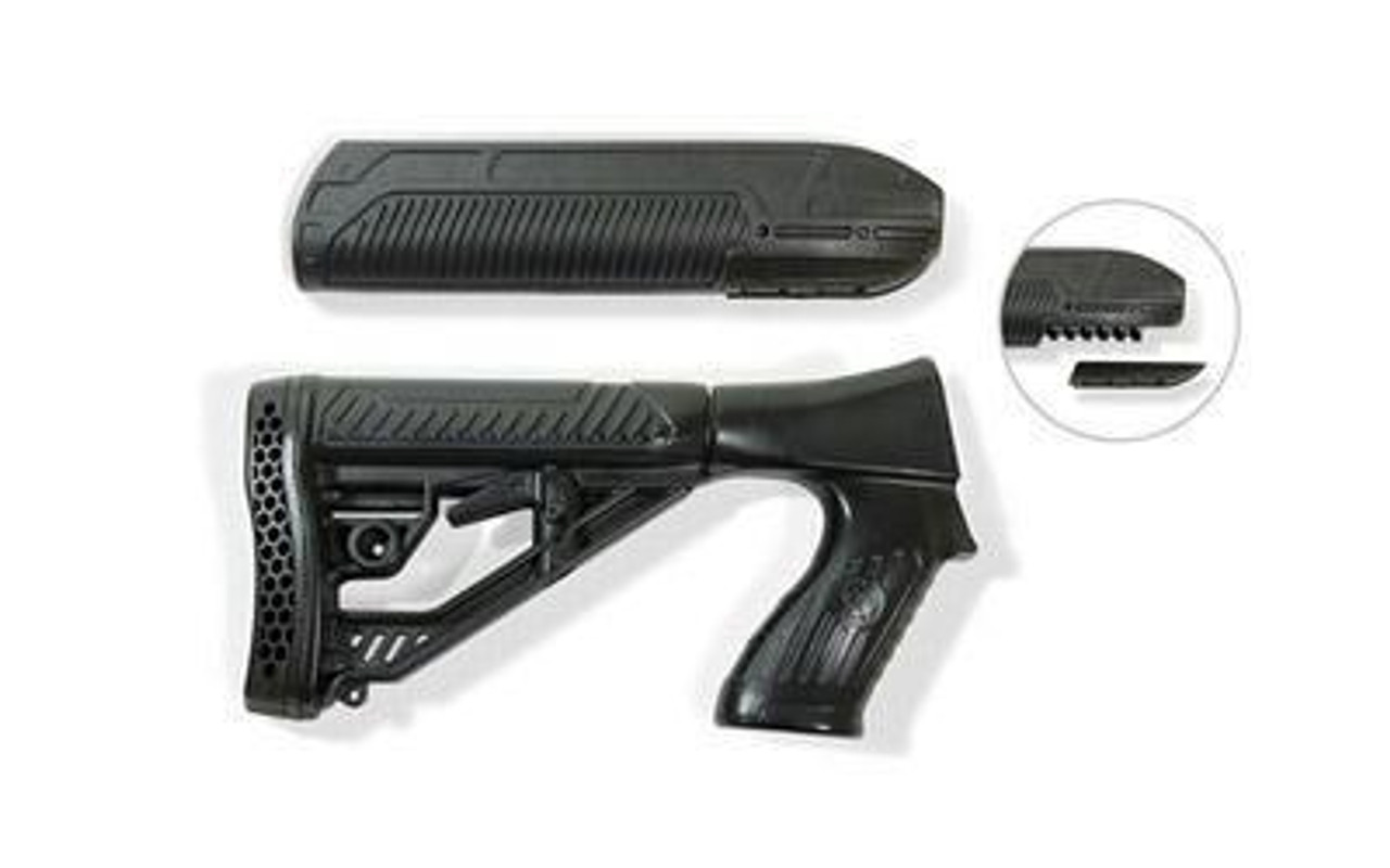 Adaptive Tactical Ex Performance Stock Kit & Forend   Remington 870 12g