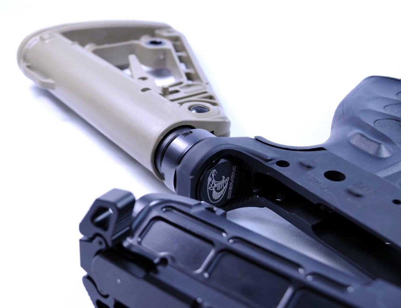 Cobratac BOA Tactical Super Stock Complete kit   M4 Mil-Spec FDE