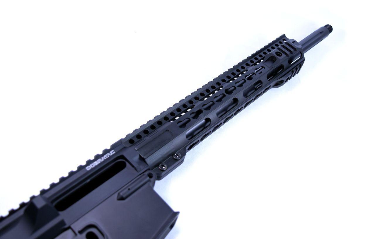 "12"" Slim Handguard Free Float - 3-Gun Pro Key-Mod Rail"