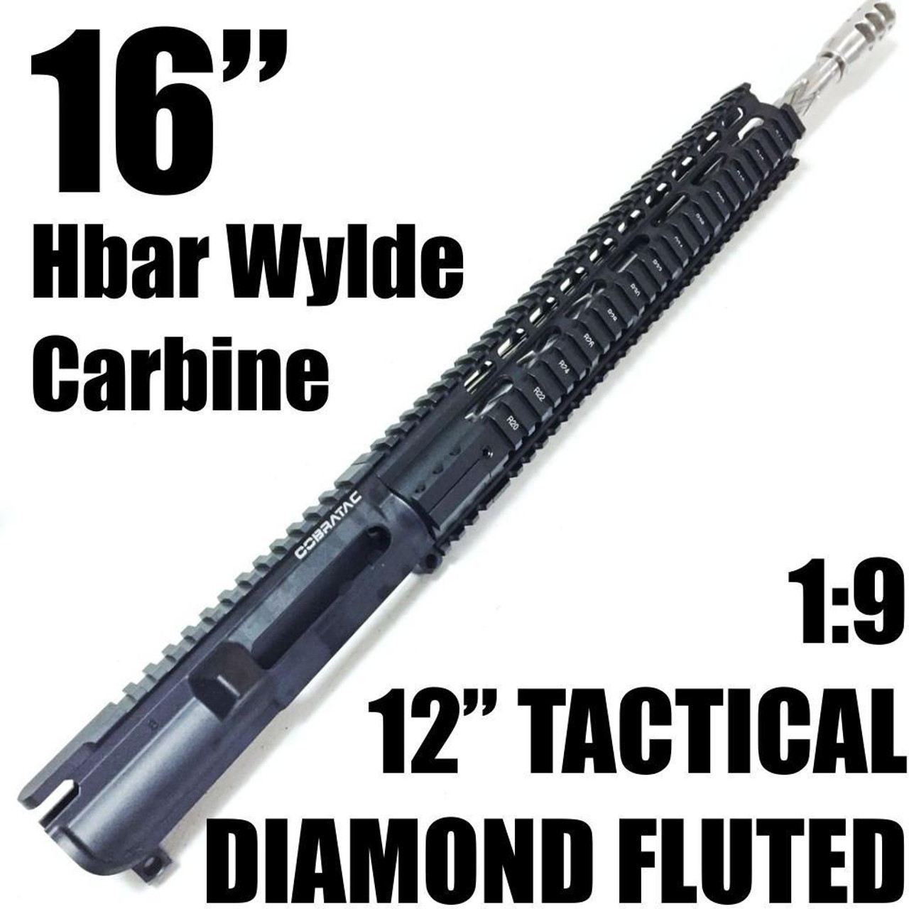 """16"""" DIAMOND FLUTED SS-UL REC 