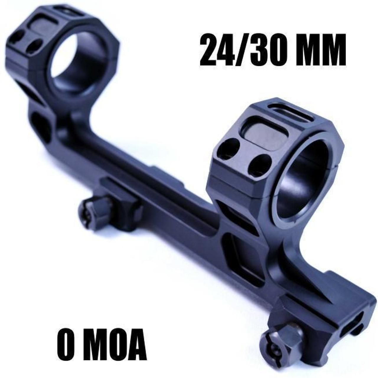 Cobratac Ultra Match Scope Mount   25/30MM 0 MOA