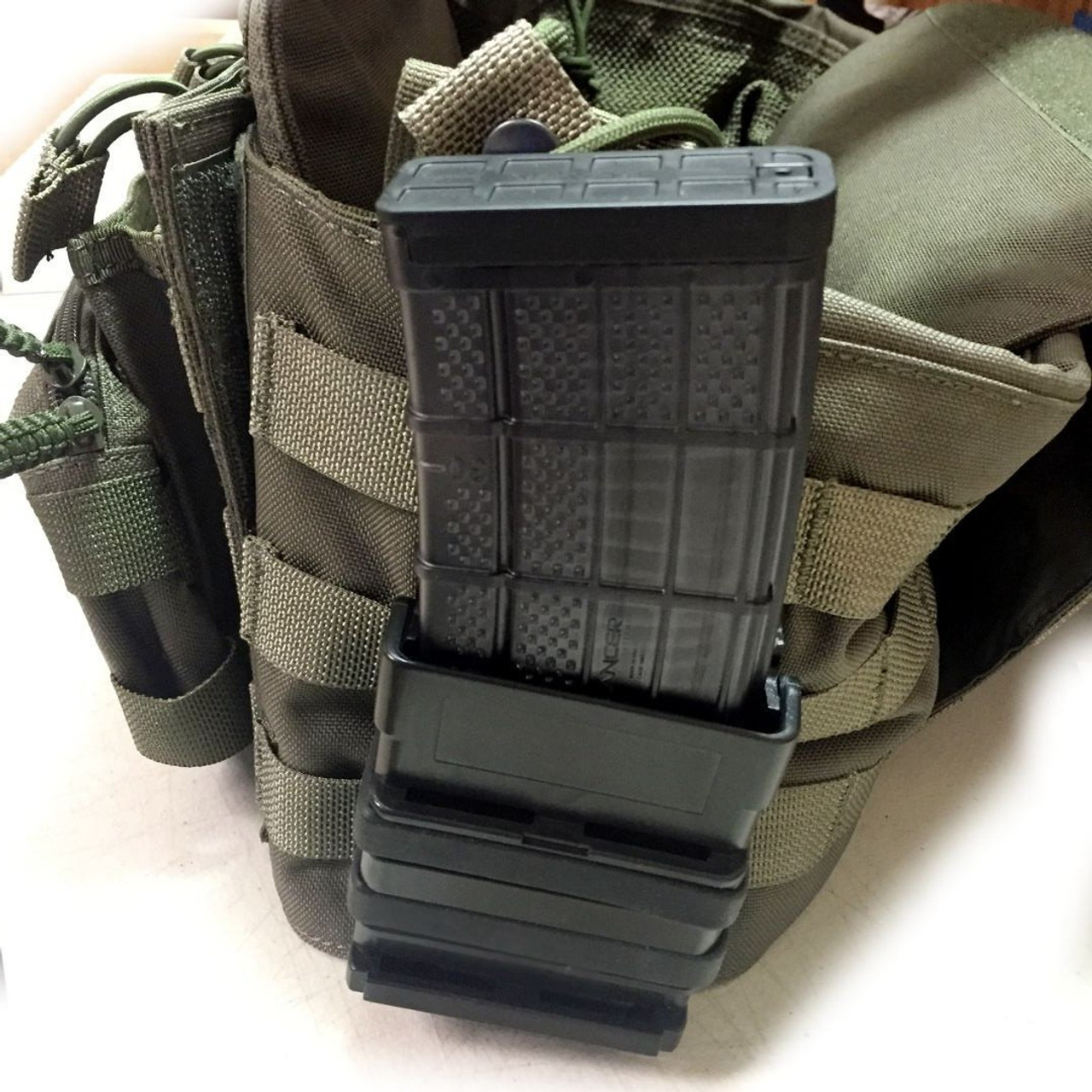7.62/.308 Fast Fang HD Gen III Single Magazine Mag Holster/Pouch - Molle Version