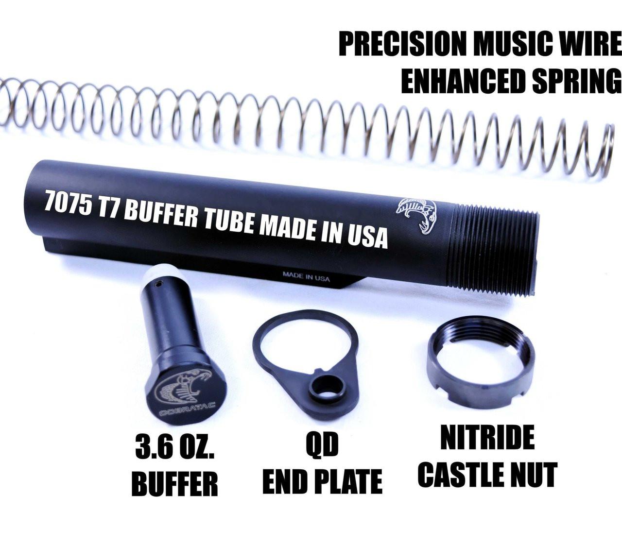 Cobratac Enhanced .308 Carbine Stock Buffer Kit Assembly | LR-308/AR-10