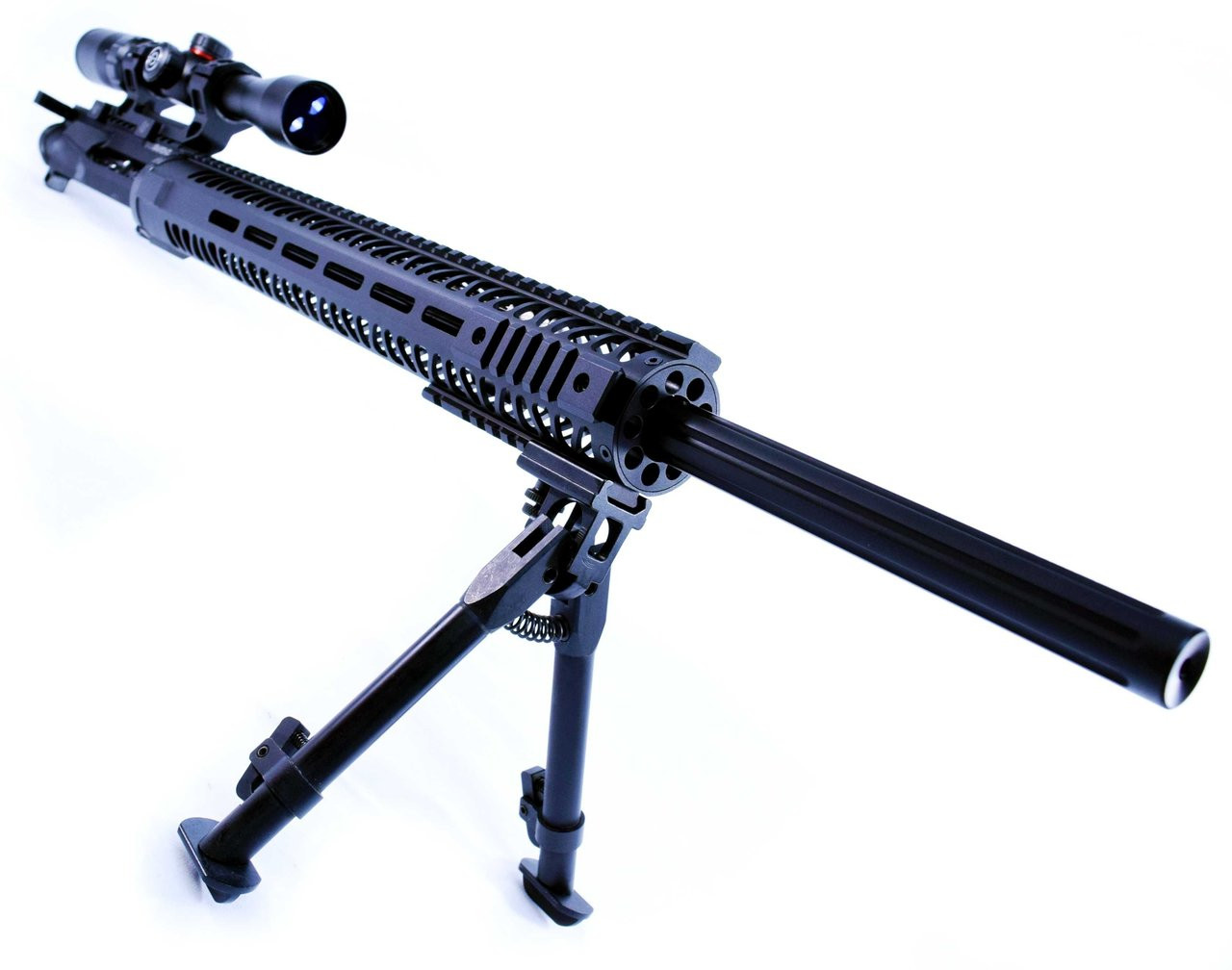 24 OBSIDIAN ULTRA MATCH PRECISION UPPER   1:9   SCOUT 16   5.56 WYLDE STRAIGHT FLUTED  