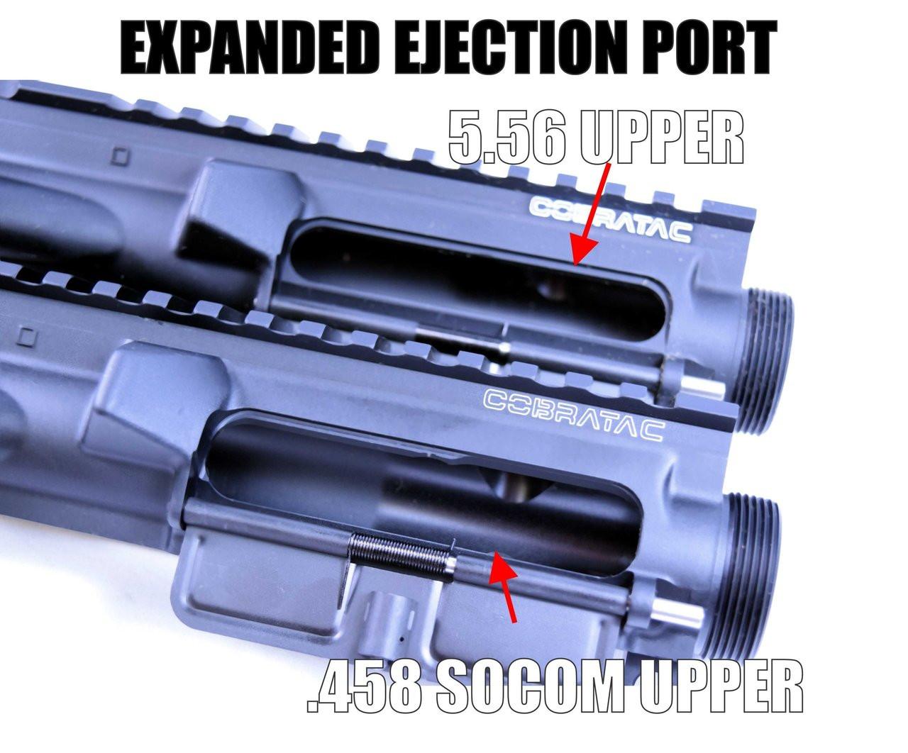 .458 SOCOM Complete M4 Upper Receiver - Anodized Black