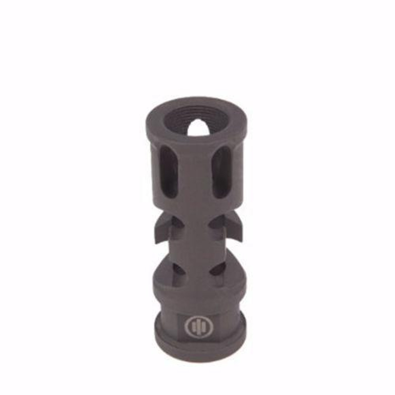 All Steel 14x1 LH Thread Short Competition Muzzle Brake Device For 7.62x39mm