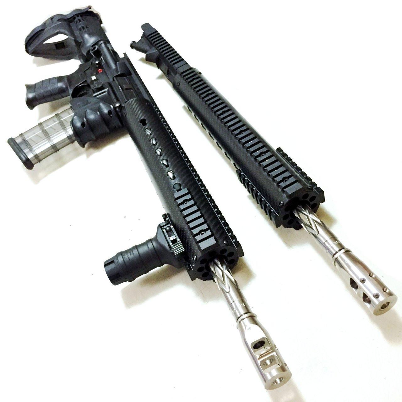 """COBRATAC Scout Carbon Pro   16.5"""" Free Float Key Mod  Hand-guard AR-15"""