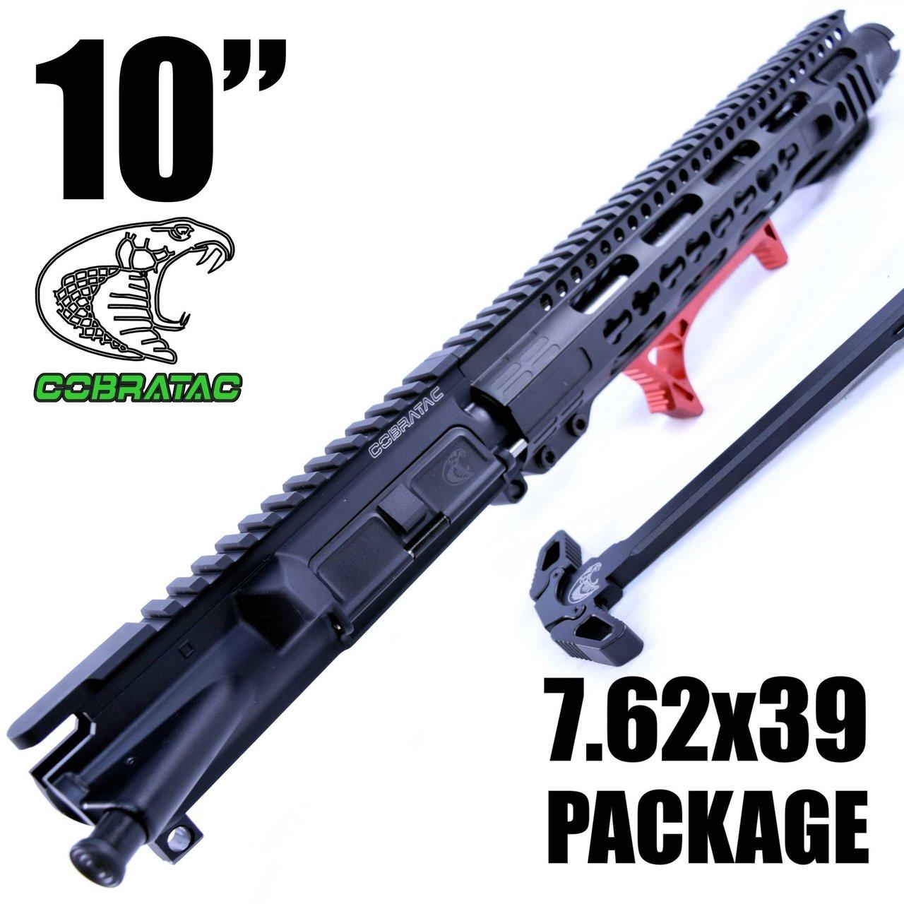 "10"" UPPER PACKAGE   1:10   NITRIDE   12"" 3-GUN PRO   7.62X39   BANSHEE SLIM  "