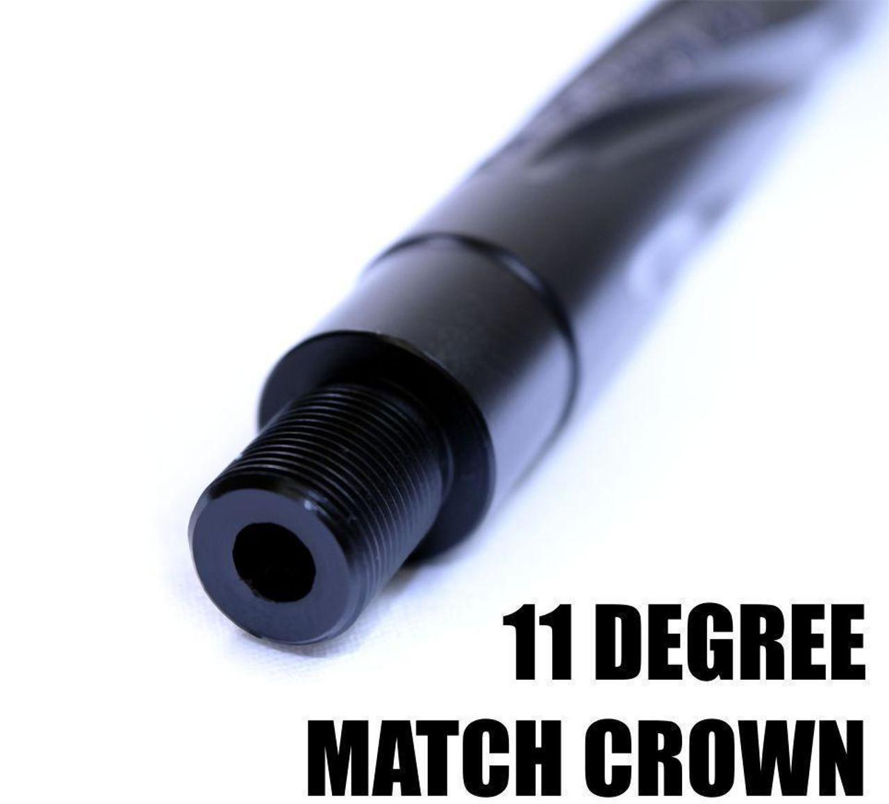 "16"" .223/5.56 Obsidian Ultra Match Black Nitride | Spiral Wylde 1:9"