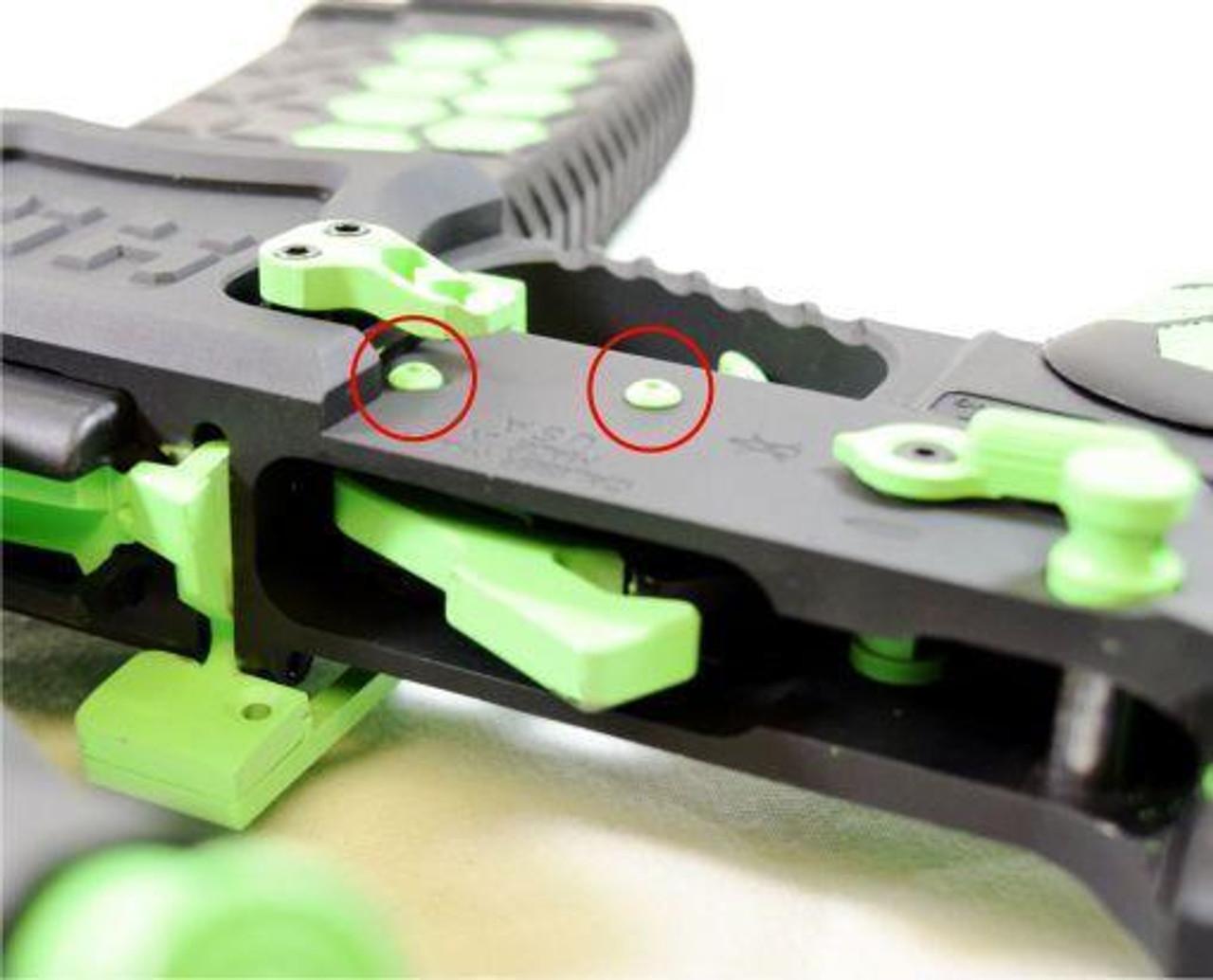 Anti Walk/Roll AR pins Kit- Stainless (LP-1018720)