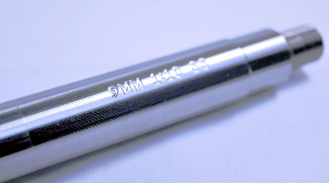 "13.5"" 416R Stainless Steel Heavy Barrel 9mm 1:10"