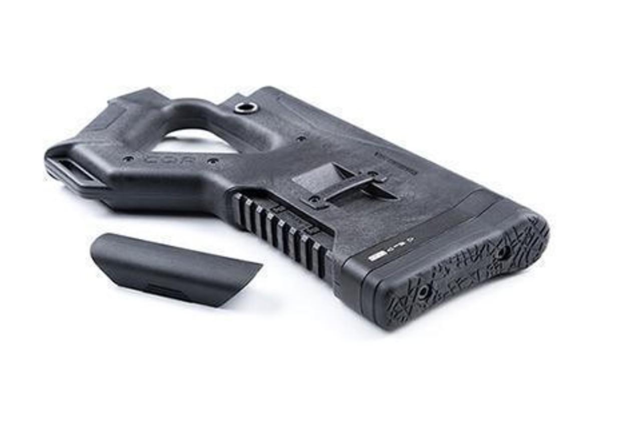 HERA USA CQR AR-15 Fixed Stock Mil-Spec Polymer Black