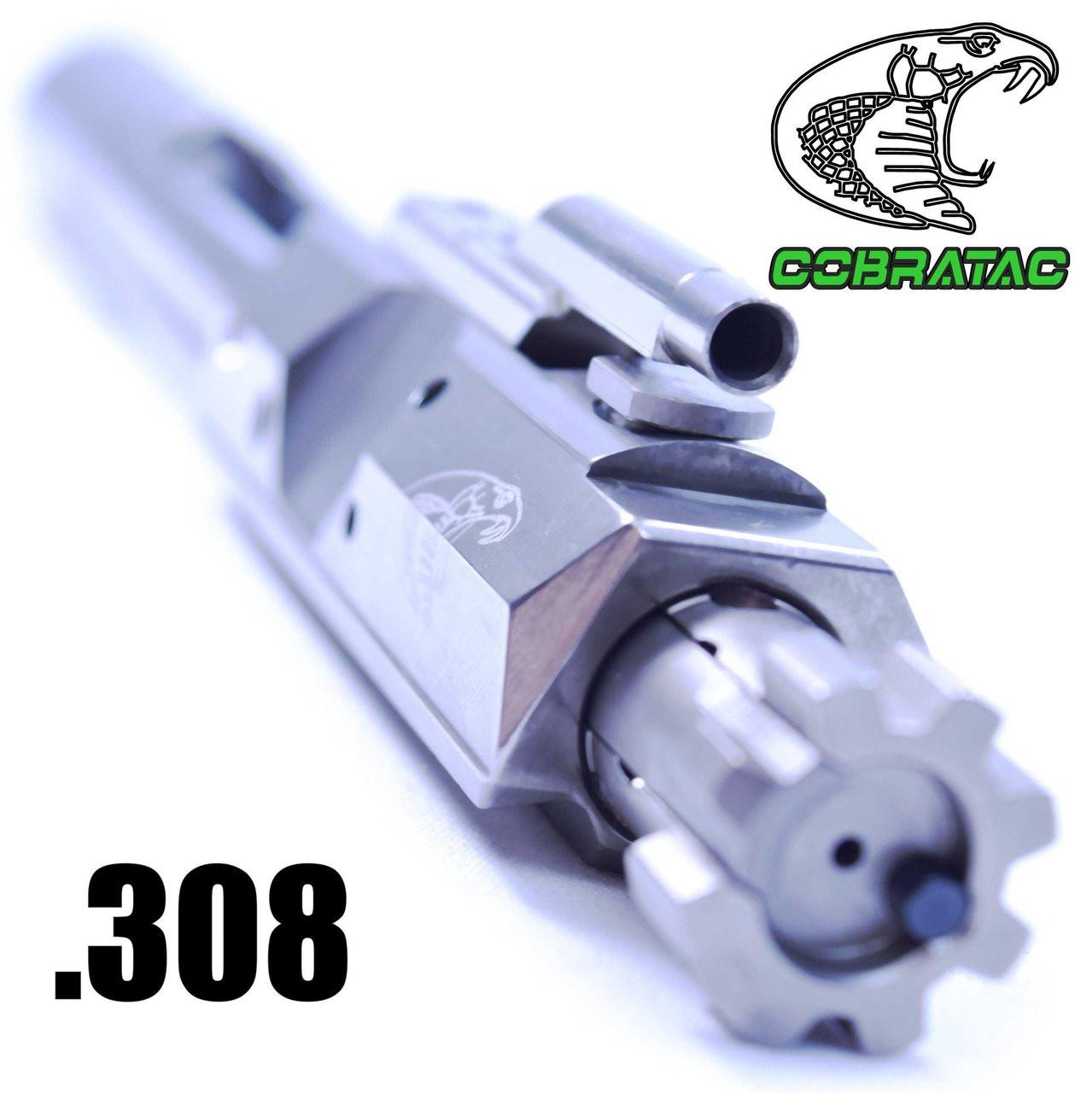Cobratac Ultra Match .308 BCG LR-308 Bolt Carrier Group | EXO Nickle Boron