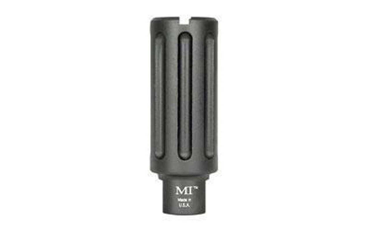 Midwest Industries Blast Can AR-15 Muzzle Device 5.56mm NATO Threaded 1/2x28 6061 Aluminum Hard Coat Anodized Matte Black